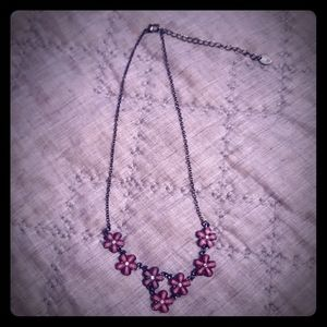 Girls Claire's Floral Necklace